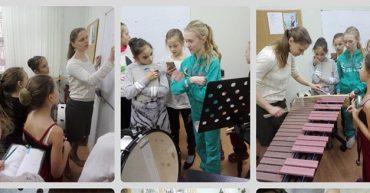 Урок-концерт «Семья ударных инструментов»