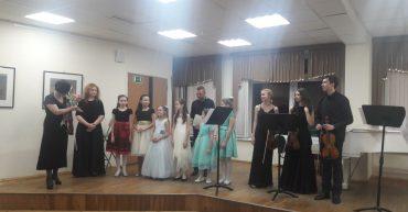 Концерт класса преподавателя Артамоновой Н. В.