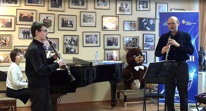 Мастер-класс по специальности «кларнет»