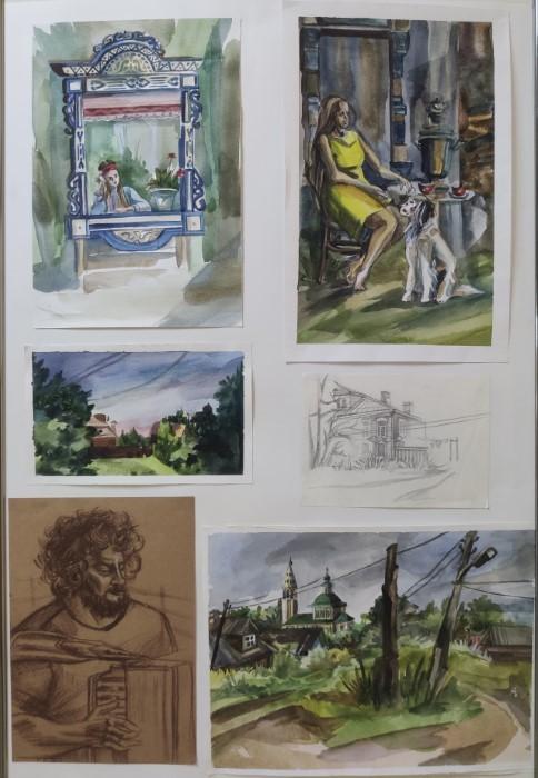 Выставки учащихся художественного отделения