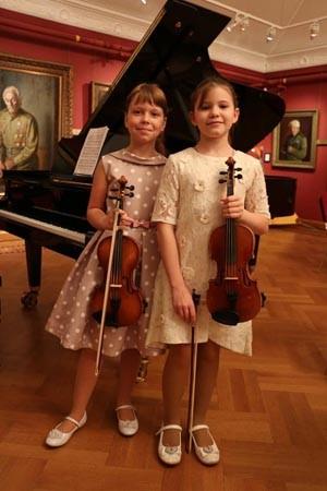 Концерт «Музыка и живопись - две родные сестры».