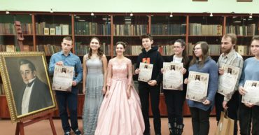 На праздновании 225-летия со дня рождения А. С. Грибоедова