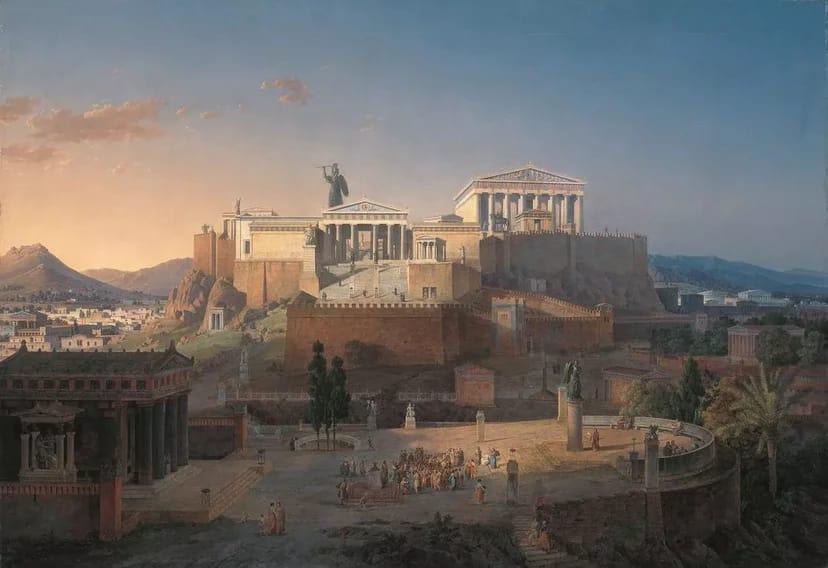 Онлайн семинар «Культура  и искусство Древней Греции»