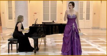 Выступление Виолетты Скульской на концерте «Музыкальная юность России»