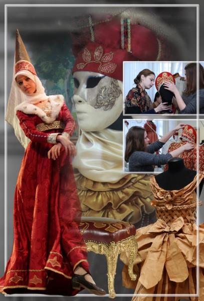 Дефиле исторического и современного костюма