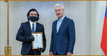 Поздравляем Ахметова А.М. с получением Благодарности Мэра Москвы