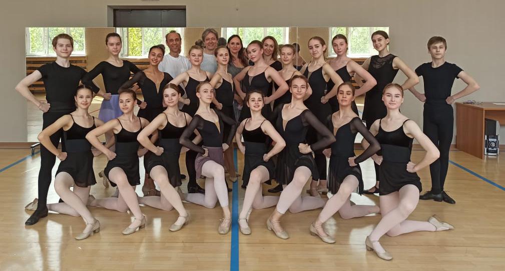 Мастер-класс по народно-сценическому танцу