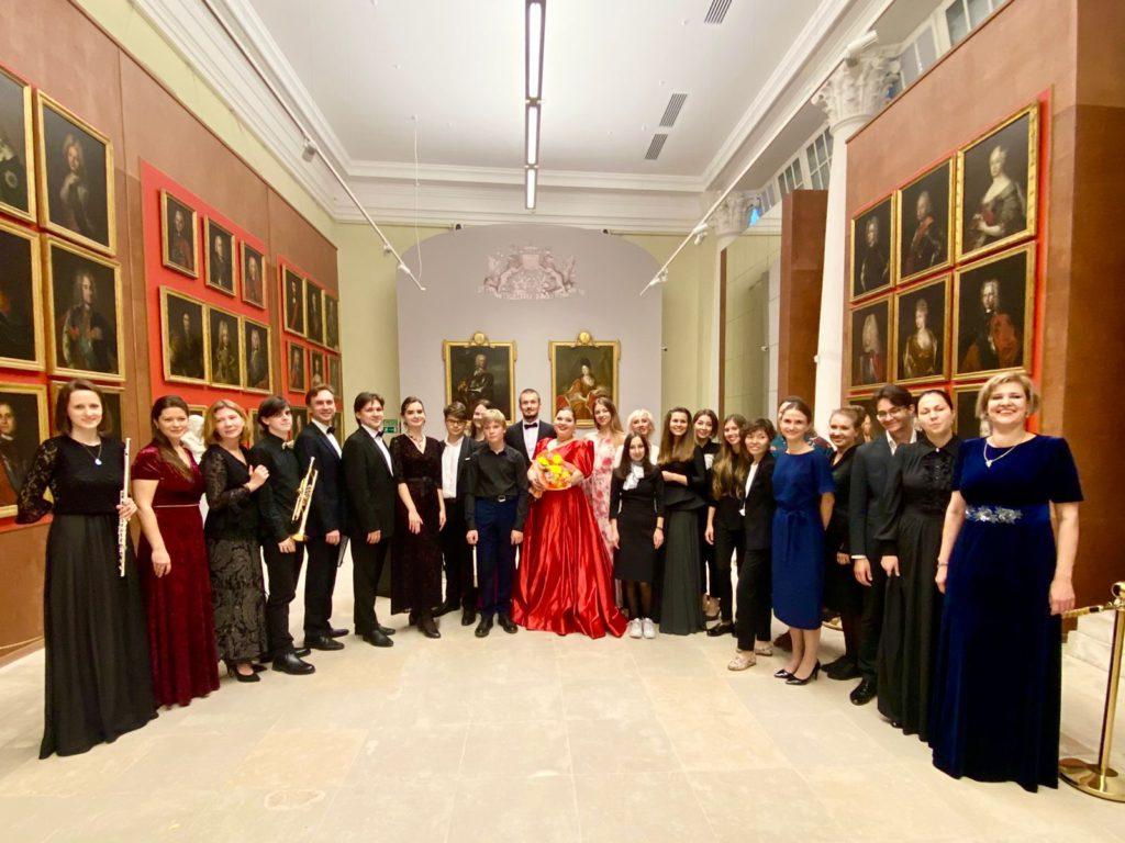 Концерт, посвящённый 874-летию Москвы